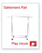 Deluxe Collapsible Salesmans Rail movie